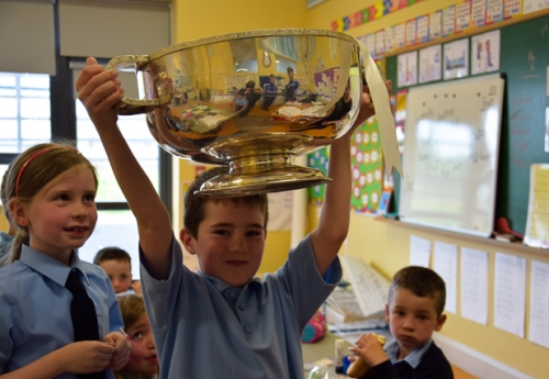 Enda and the Mick Duffy Cup